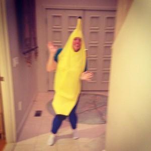 Me as a banana