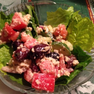 Isa Does It Greek Diner Salad