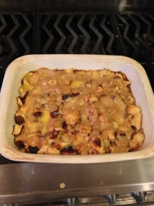 Pretzel Bread Pudding