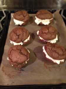 Whoops, I made Whoopie Pies