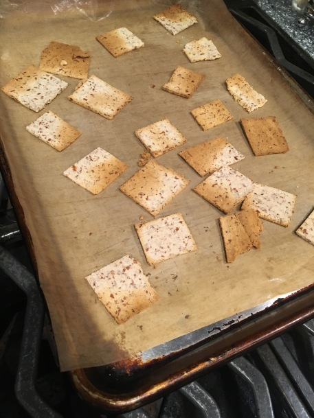 almond-crackers