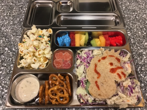 unicorn bento box 2 of 3